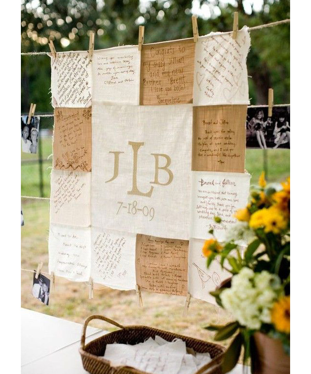 wedding guest sign in ideas we ♥ this! moncheribridals.com