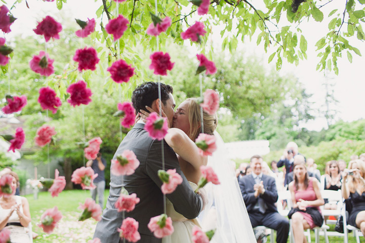Gorgeous Garland Wedding Inspiration