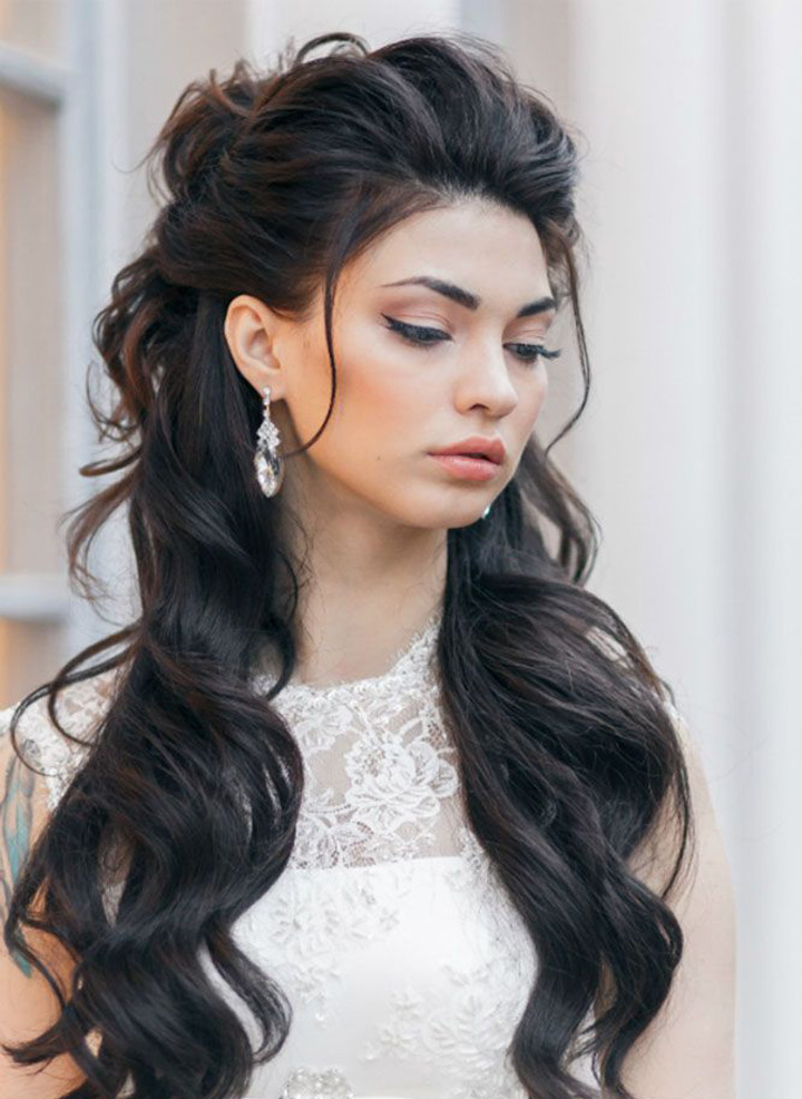 Pump up the Volume Wedding Hair