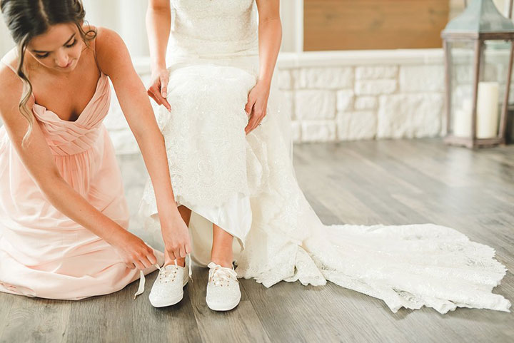 The Bride Wore Glitter Keds