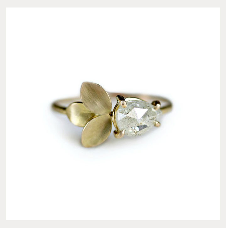 Nature Inspired Engagement Rings By Katie Carder