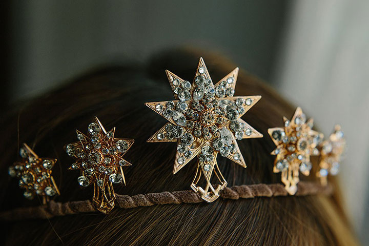 7 Celestial Hair Accessories For Brides by Erica Elizabeth Designs