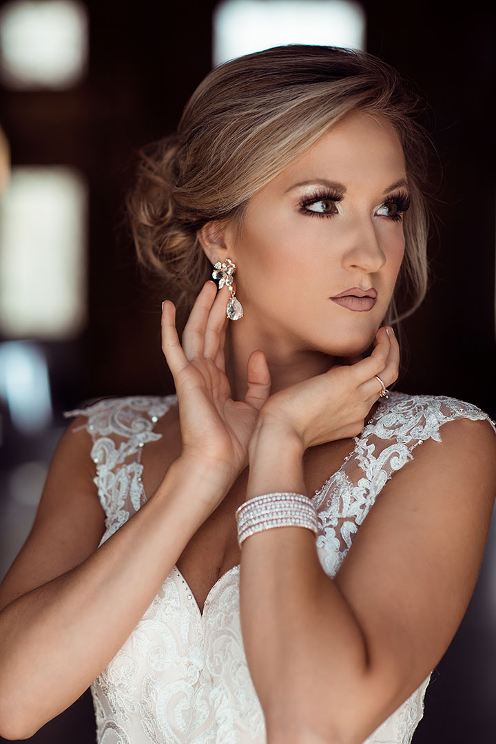 Bridal Portraits Featuring Enchanting by Mon Cheri