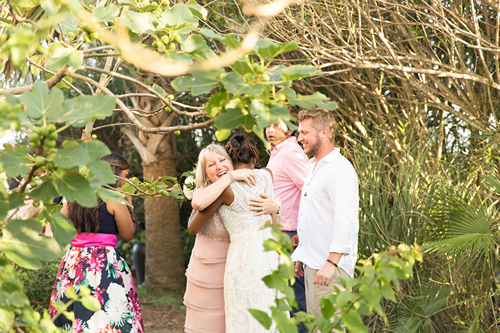 Backyard Beach Wedding In Charleston