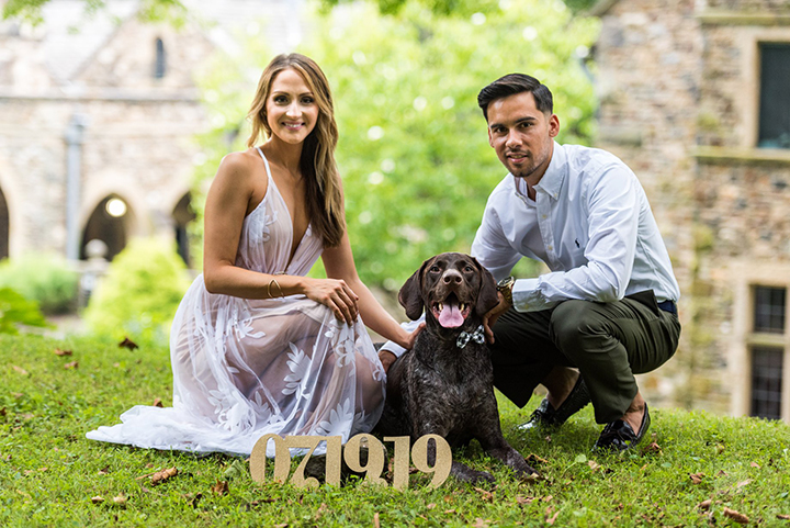 Philly Engagement At Ridley Creek State Park
