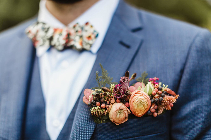 Spectacular Autumn Wedding Florals by Splints & Daisies Floral Design
