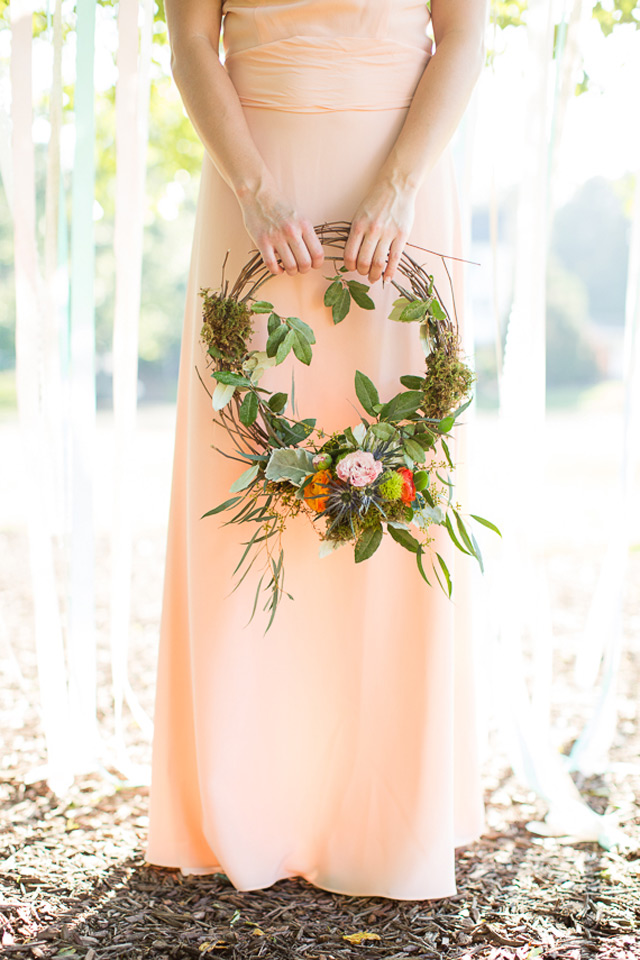 10 Unique Alternatives to Bridesmaids' Bouquets  ~ we ♥ this! moncheribridals.com
