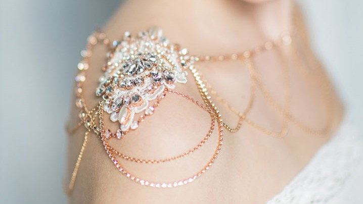 Dazzling Shoulder Jewelry for Brides
