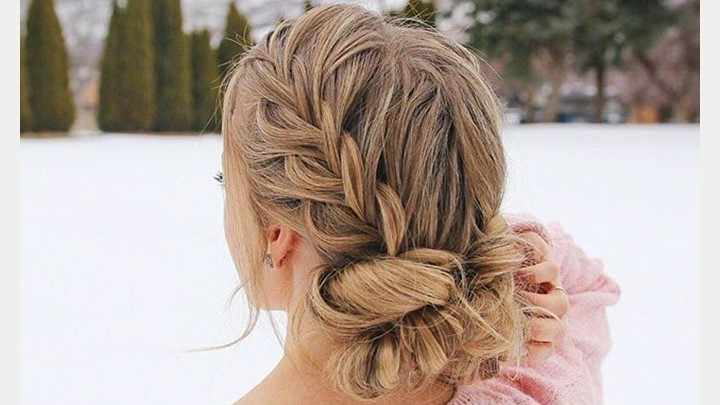 Missy Sue's Double Fishtail French Braid Low Bun