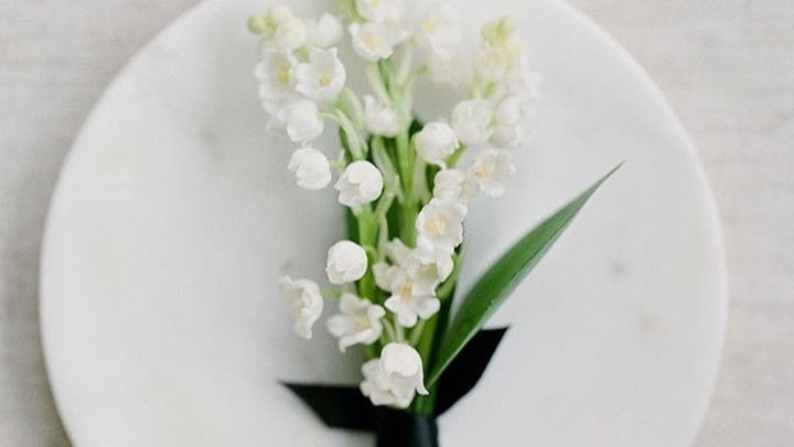 The Sweetest Little Lily Of The Valley Boutonniere