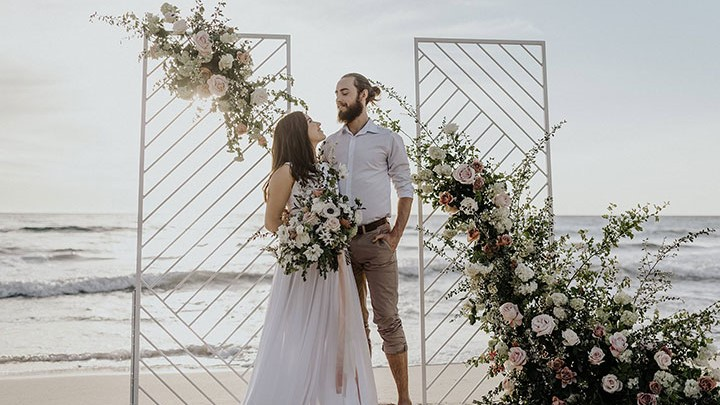 Three Contemporary Ceremony Backdrops