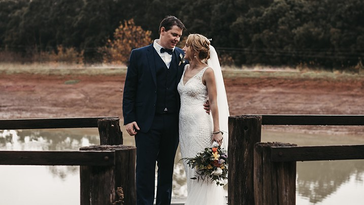 Winter Bride Wears Beaded Lace & Tulle Sheath In Diamond White