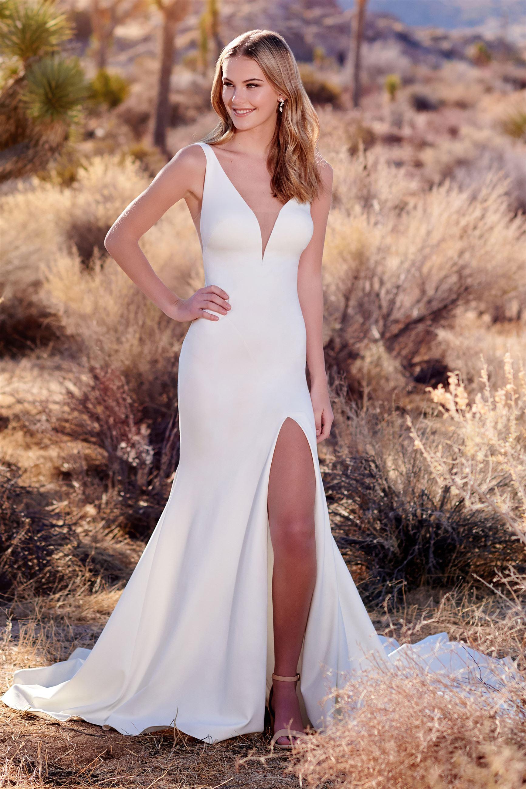 Informal Casual Wedding Dresses Enchanting By Mon Cheri